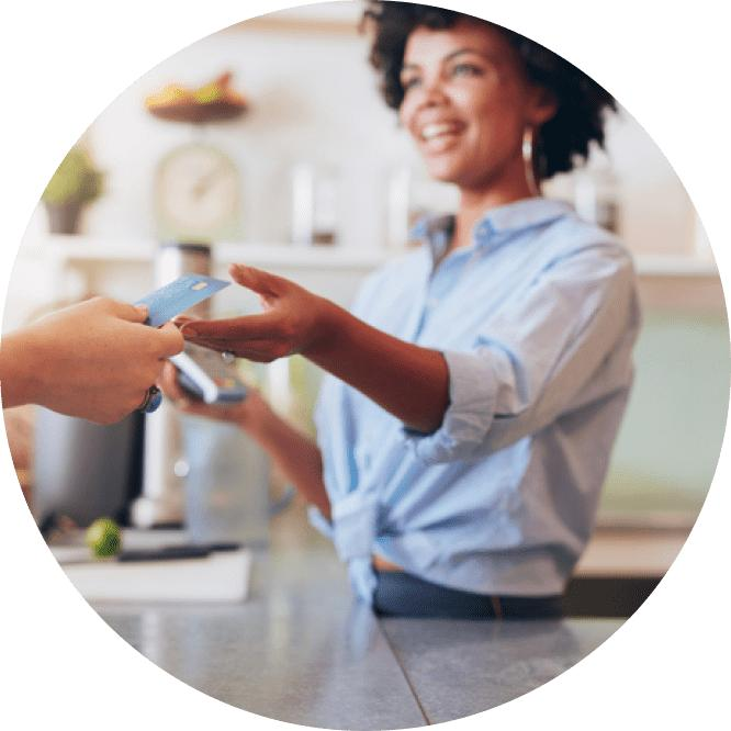 Accepting credit card payment image