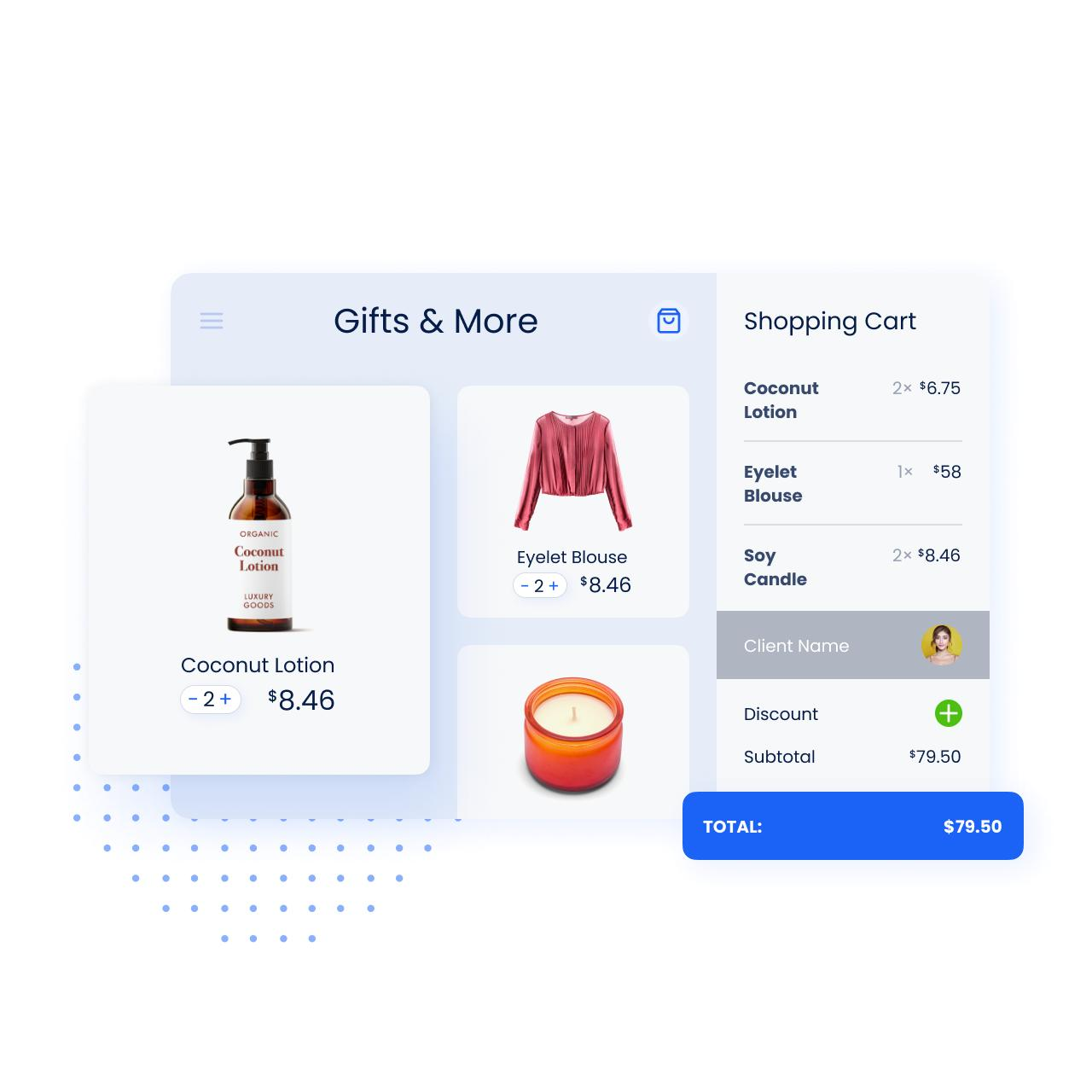 Store items image