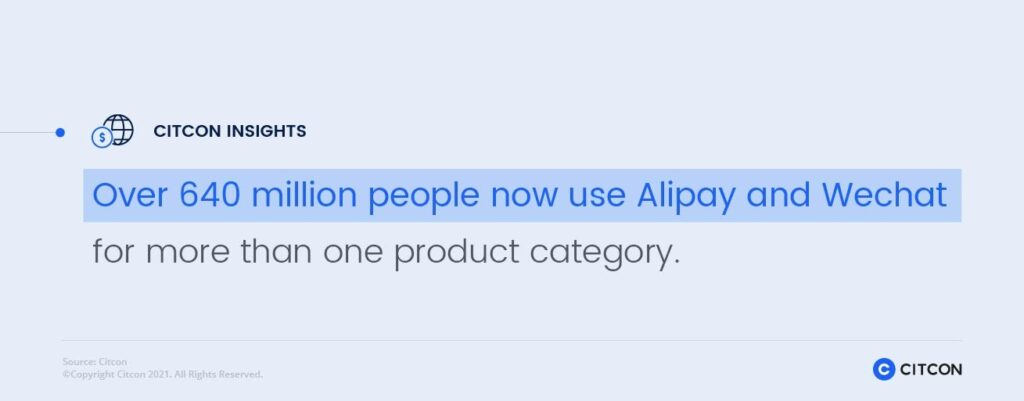 How to Enter the Chinese Market: Over 640 million people now use Alipay and WeChat Pay for more than one product category.