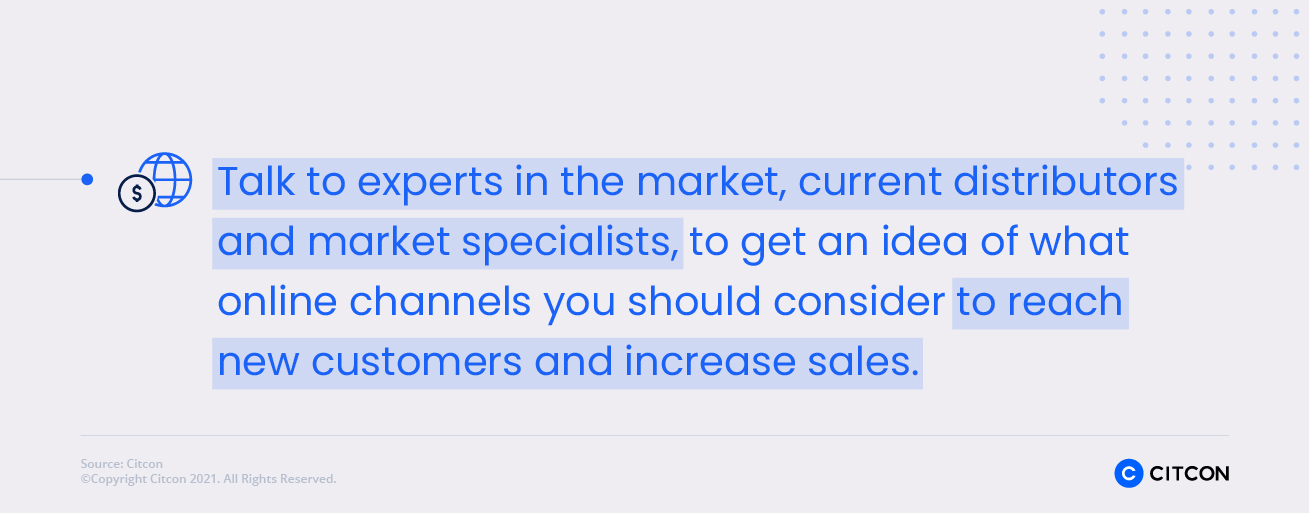 Citcon: New Markets - talk to experts in the market