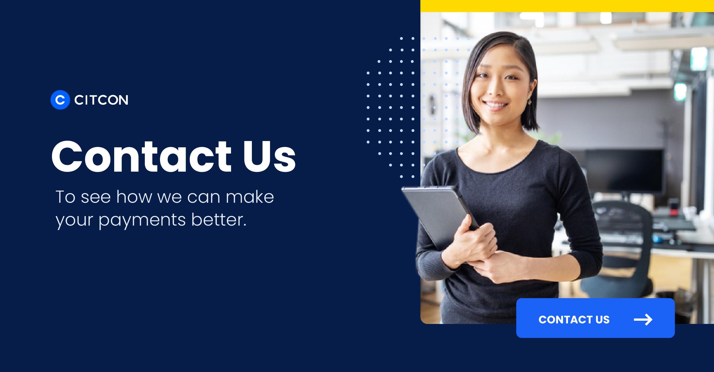 Citcon: chargeback statistics - contact us
